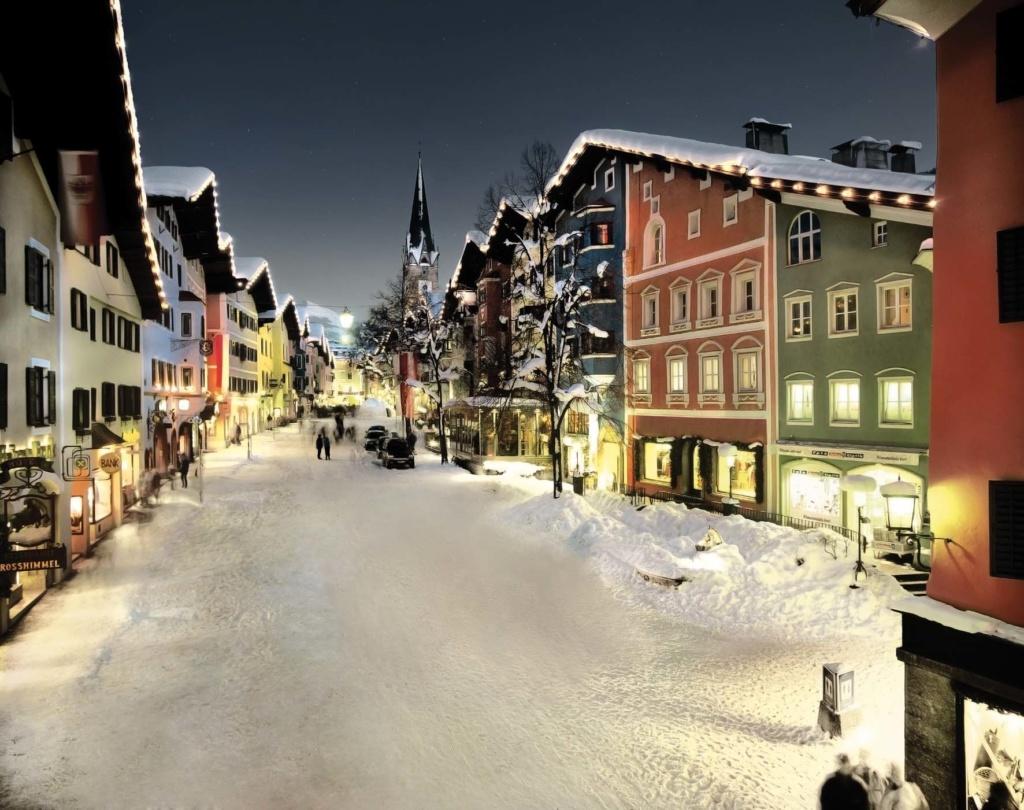 Kitzbühels malerische Innenstadt