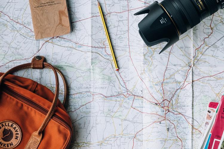 reise planen ohne stress