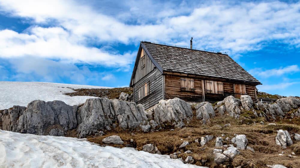 Hütte am Krippenstein