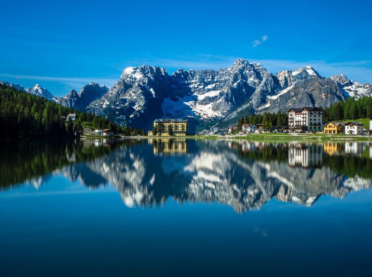 Misurina See in Südtirol