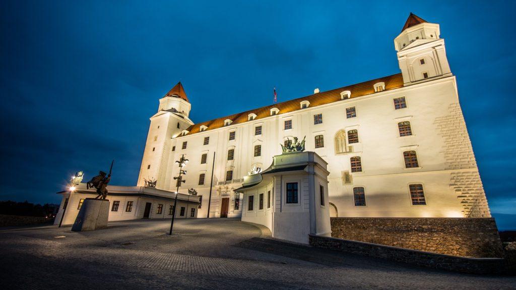 Bratislava Sehenswürdigkeiten - die Burg
