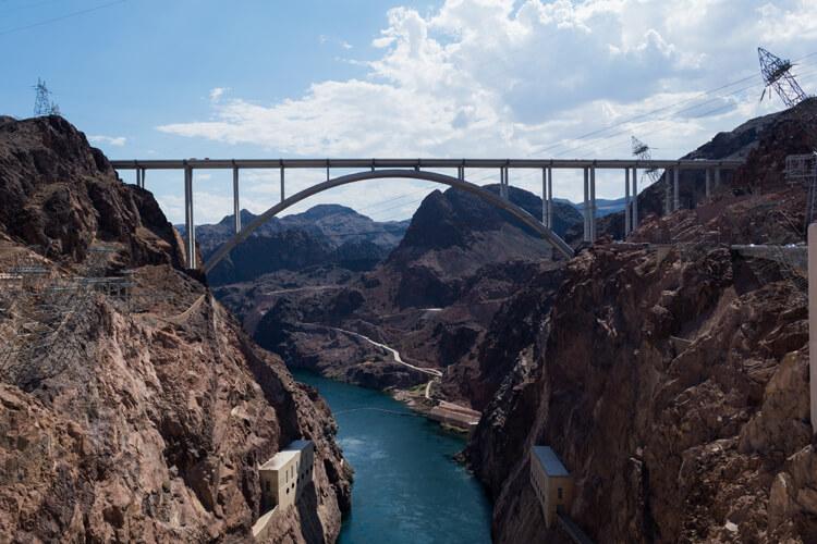 Nevada Sehenswürdigkeiten Hoover Damm