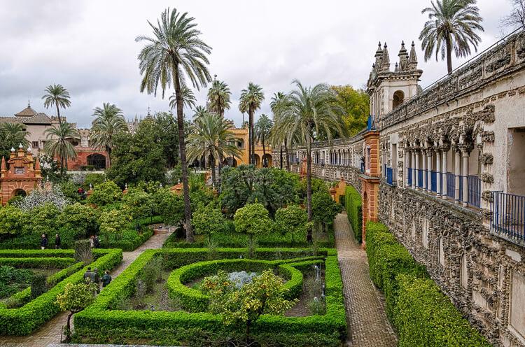 Andalusien Sehenswürdigkeiten Alcazar Sevilla