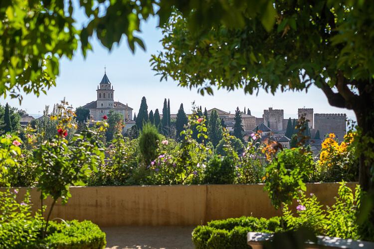 Andalusien Sehenswürdigkeiten Alhambra