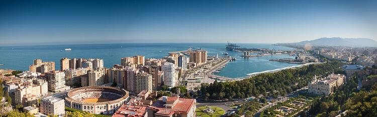 Andalusien Sehenswürdigkeiten Malaga