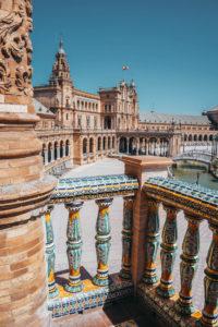 Andalusien Sehenswürdigkeiten Plaza de Espana Sevilla