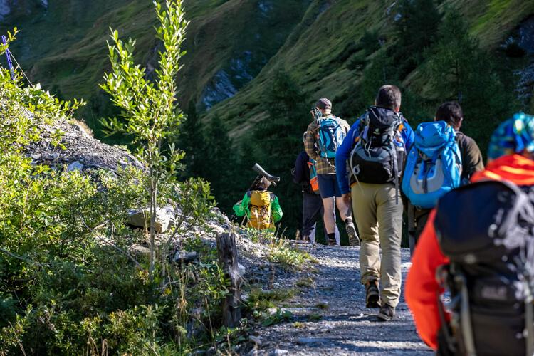 Nationalpark Ranger Lucknerhütte