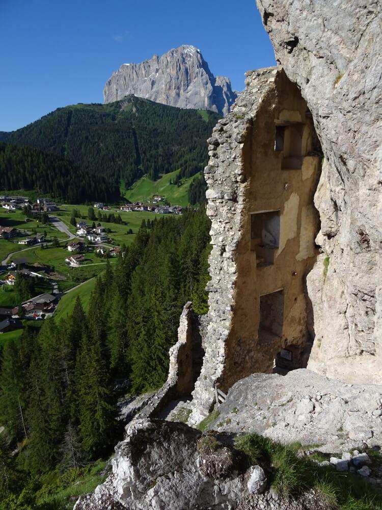 Ruine Wolkenstein in Gröden