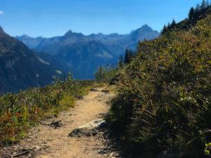 Gantakopf Wanderung Montafon
