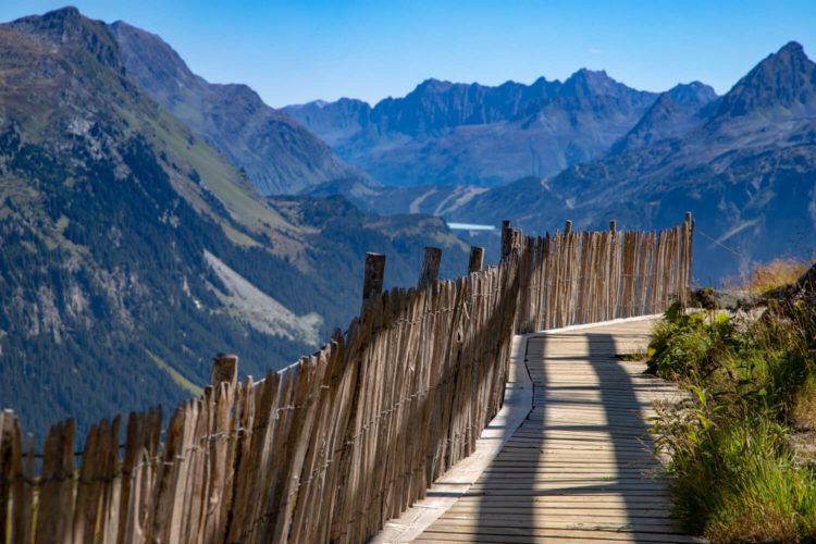 Montafon Wandern für Faule