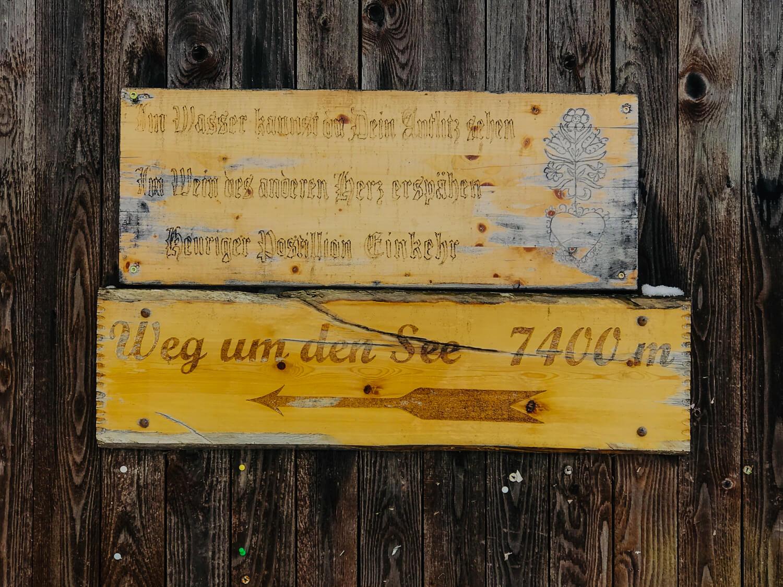 Wanderung Altauseer See