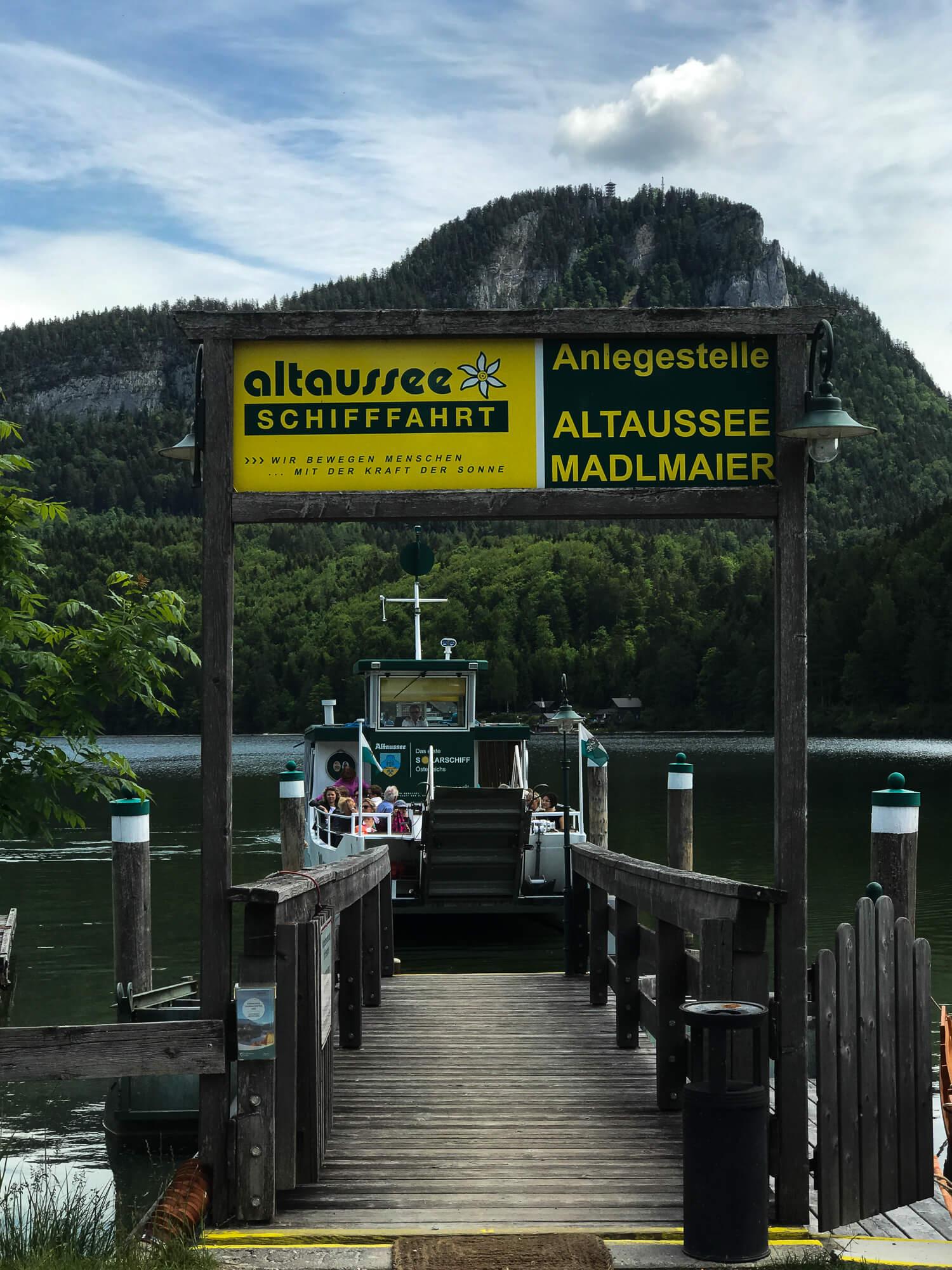 Schifffahrt Altauseer See