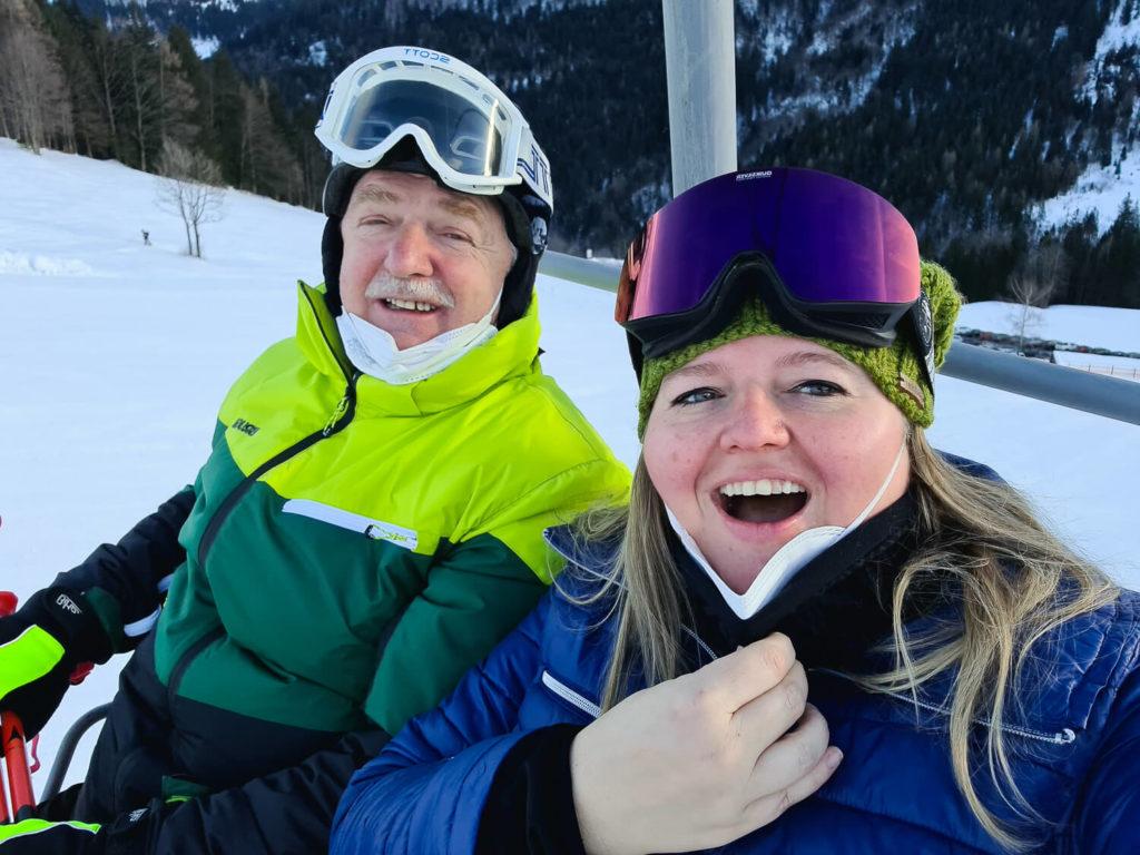 Skitag mit Papa :-)