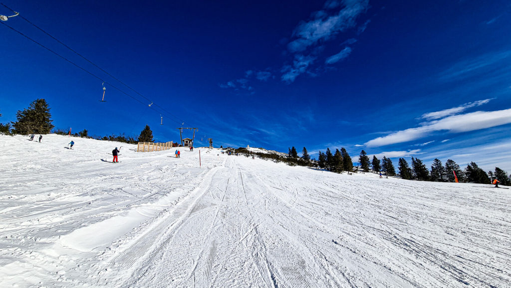 Wieserhörndl Schlepplift Skigebiet Gaissau Hintersee