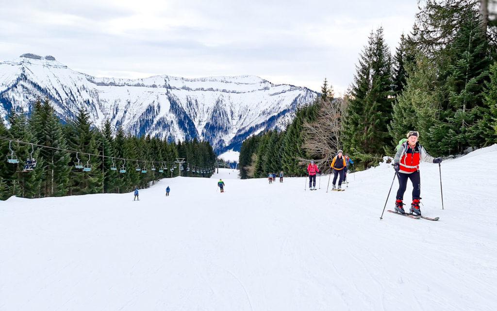 Skitouren gehen Gaissau Hintersee