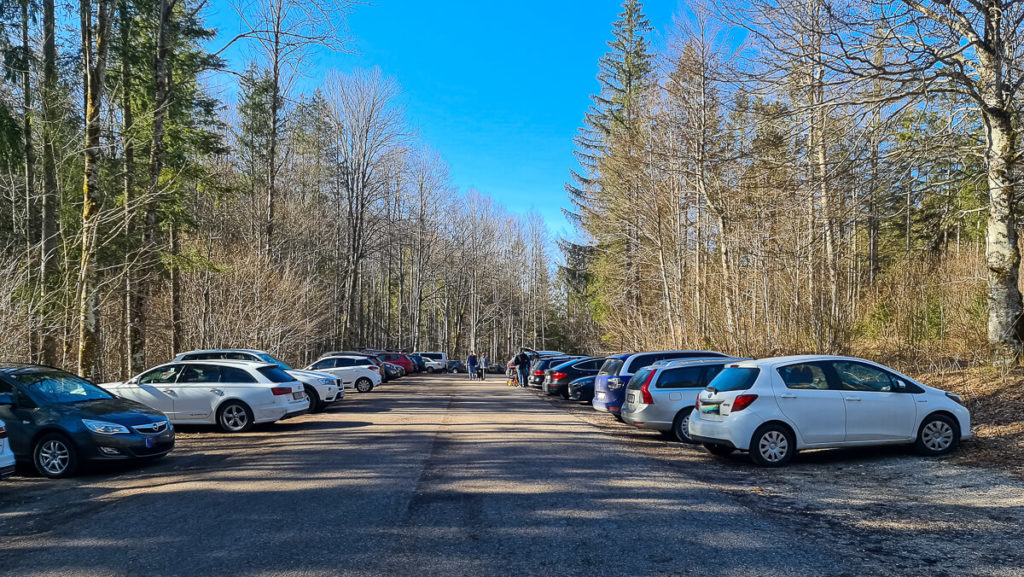 Offensee Parkplatz