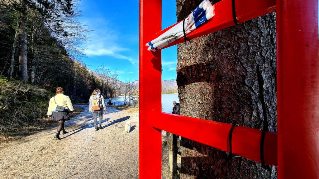Offensee Rundweg rote Leitern