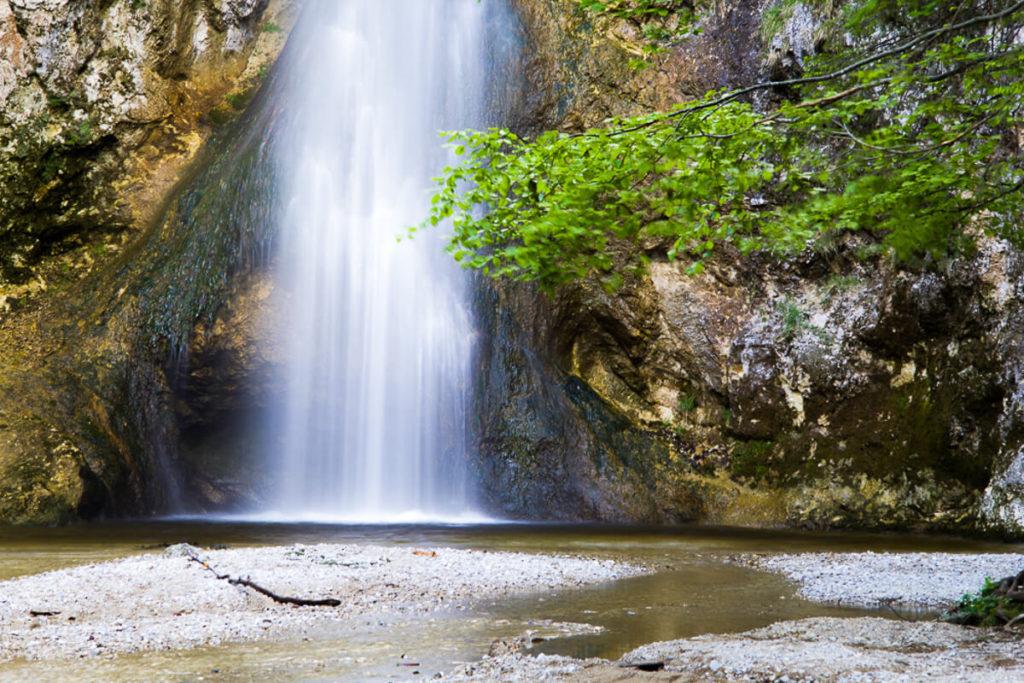 Geheimtipp: Wasserfall Plötz