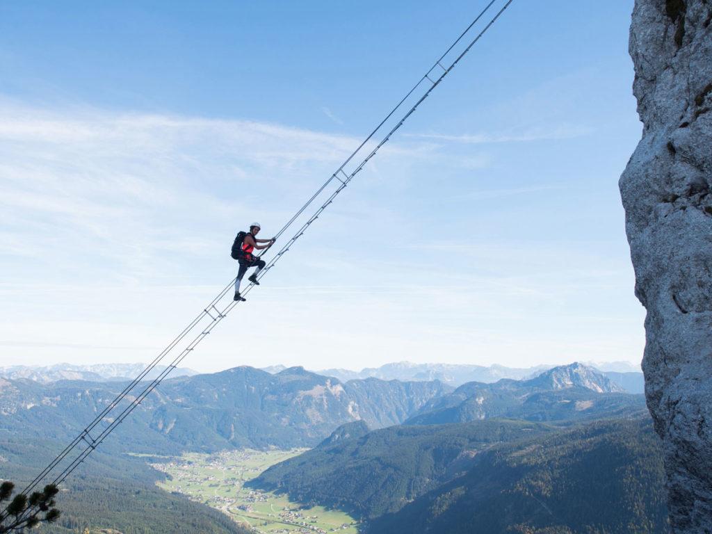 Donnerkogel Klettersteig Salzkammergut Sehenswürdigkeiten