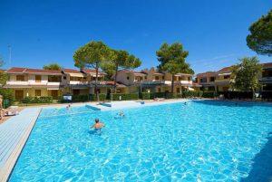 Ferienhäuser in Bibione mit Pool