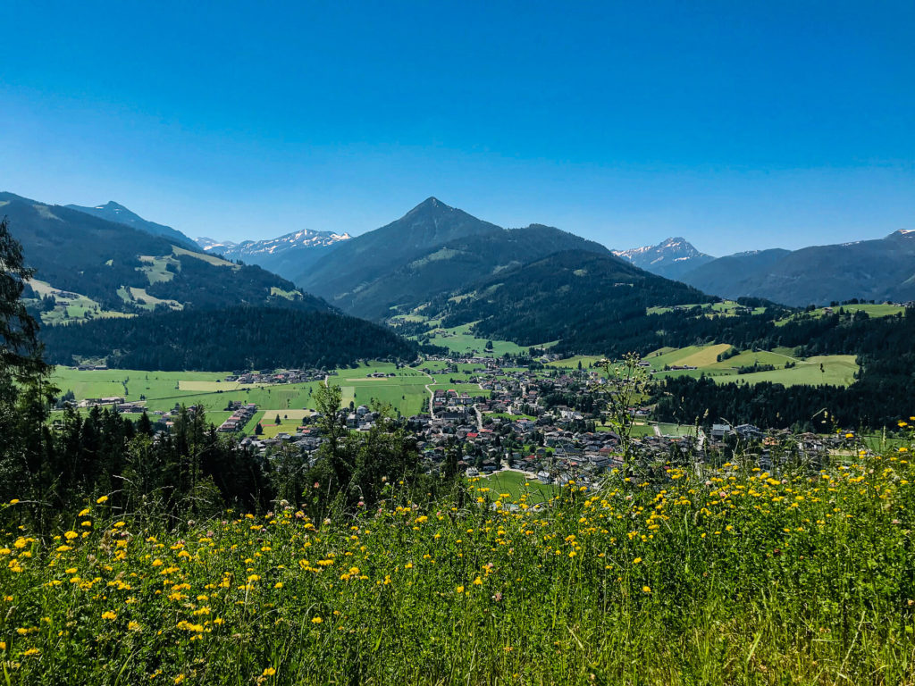Blick ins Tal vom Bauernregelweg
