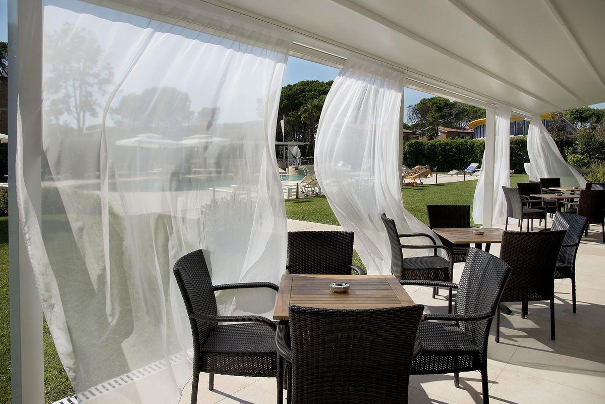 Hotel San Marco Bibione Terrasse