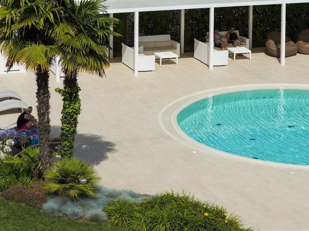 Hotel San Marco Bibione Salzwasserpool