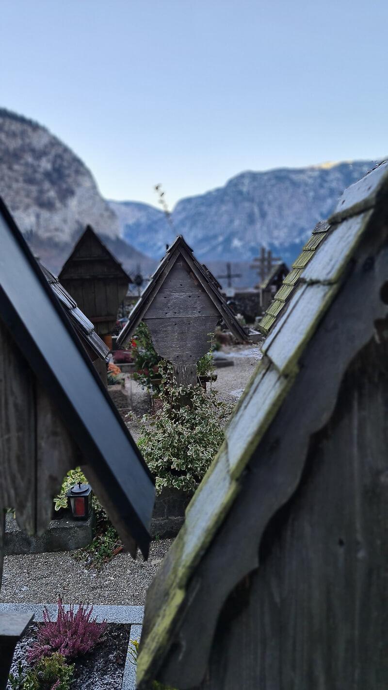 Hallstatt Beinhaus Friedhof