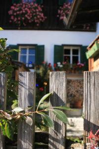 idyllische Häuser in Hallstatt