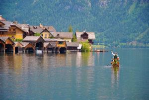 Hallstätter See Bootsfahrt