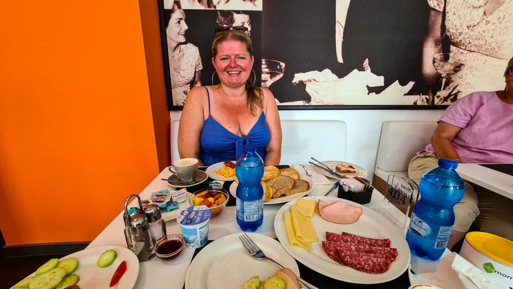 Frühstück Hotel Cleofe Caorle