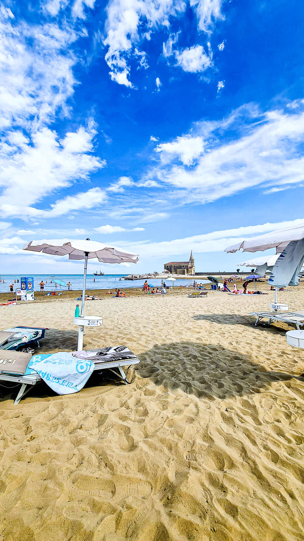 Privatstrand Hotel Cleofe Caorle