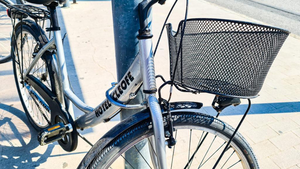Fahrräder Hotel Cleofe