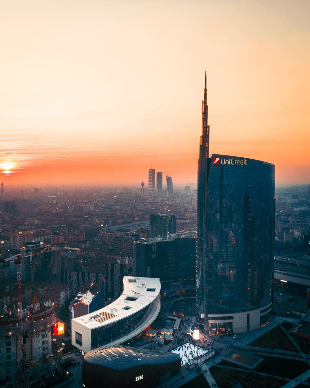 das moderne Mailand
