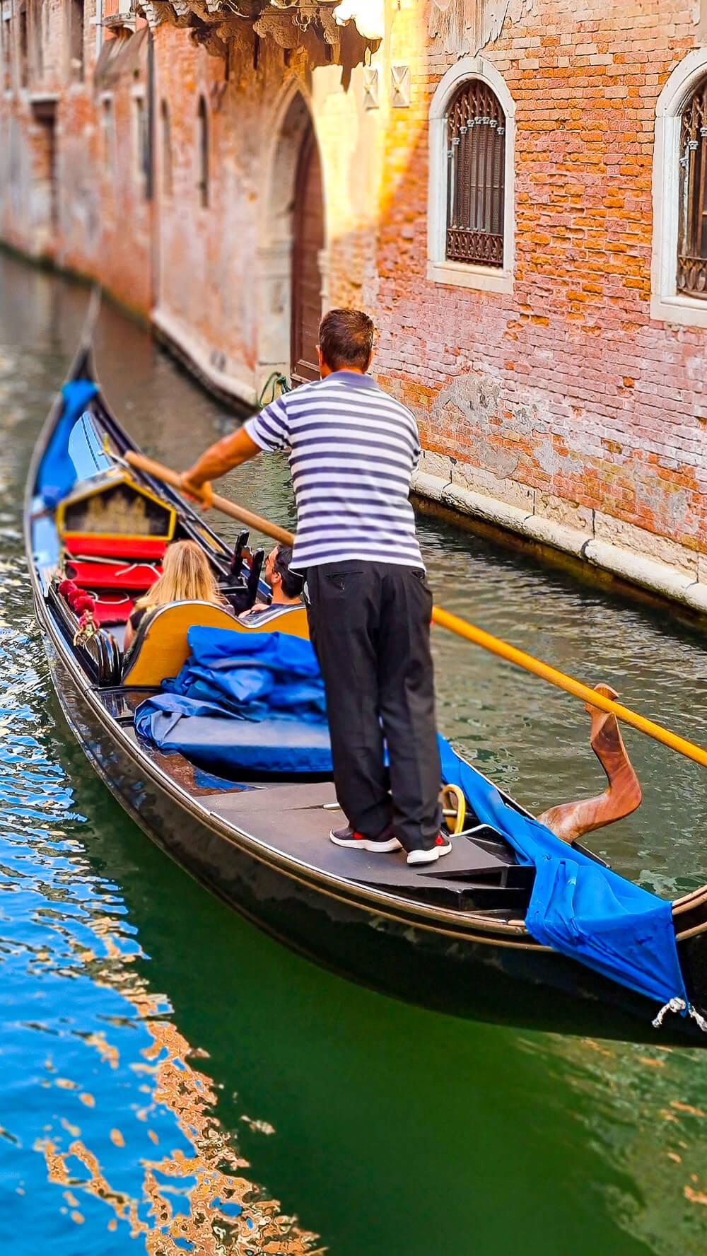 Gondelfahrt Venedig