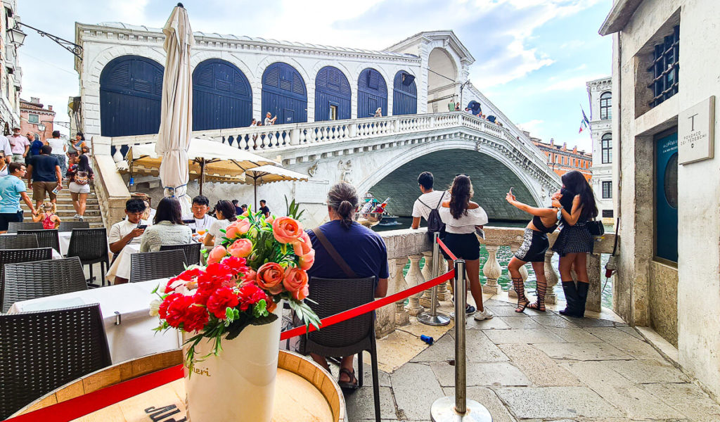 Rialtobrücke in Venedig Sehenswürdigkeiten