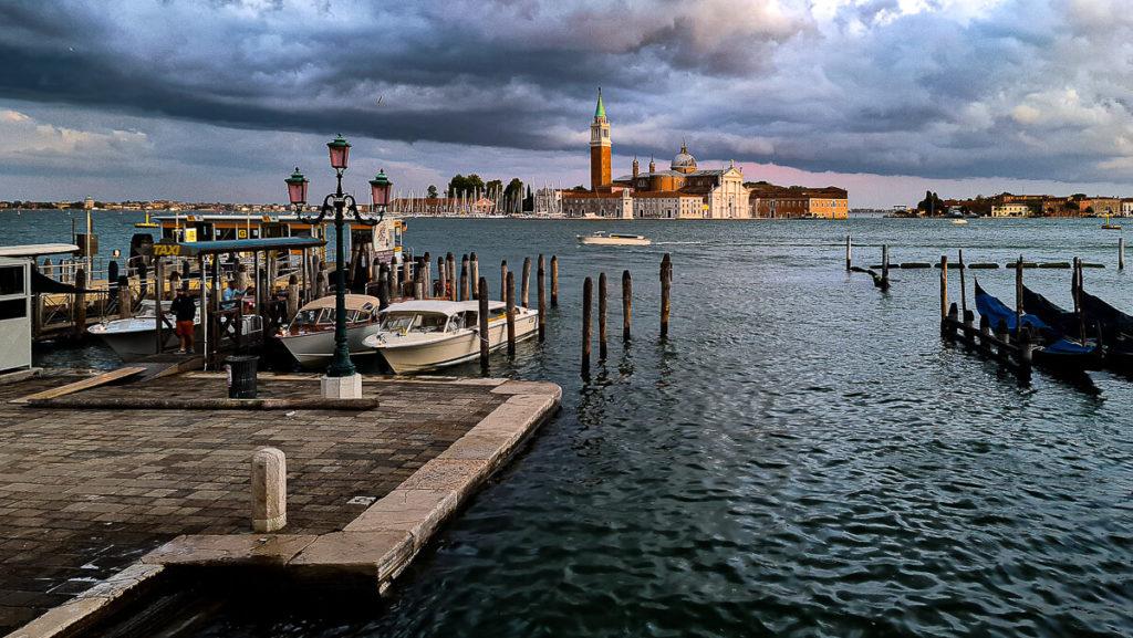 Blick zur Insel San Giorgio Maggiore