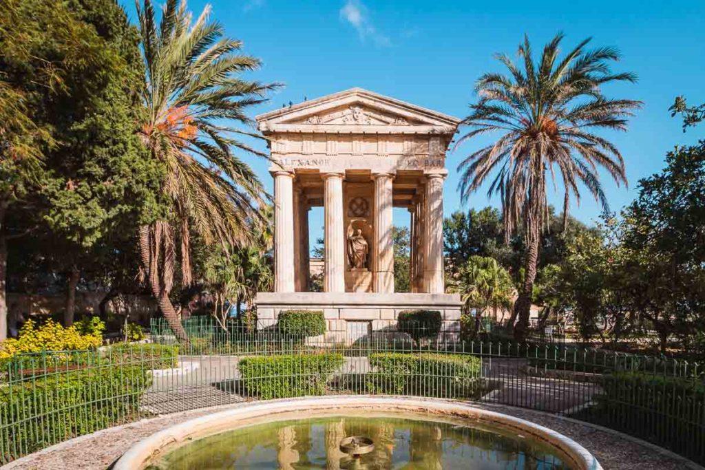 Die schönsten Gärten der Welt - Lower Barrakka Garten in Valetta