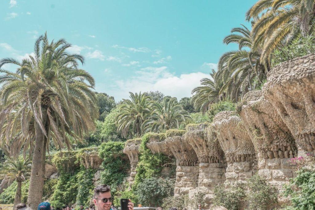 Park Güell in Barcelona - die schönsten Gärten der Welt