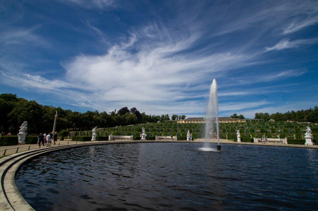 Schlosspark Sanssouci Podsdam