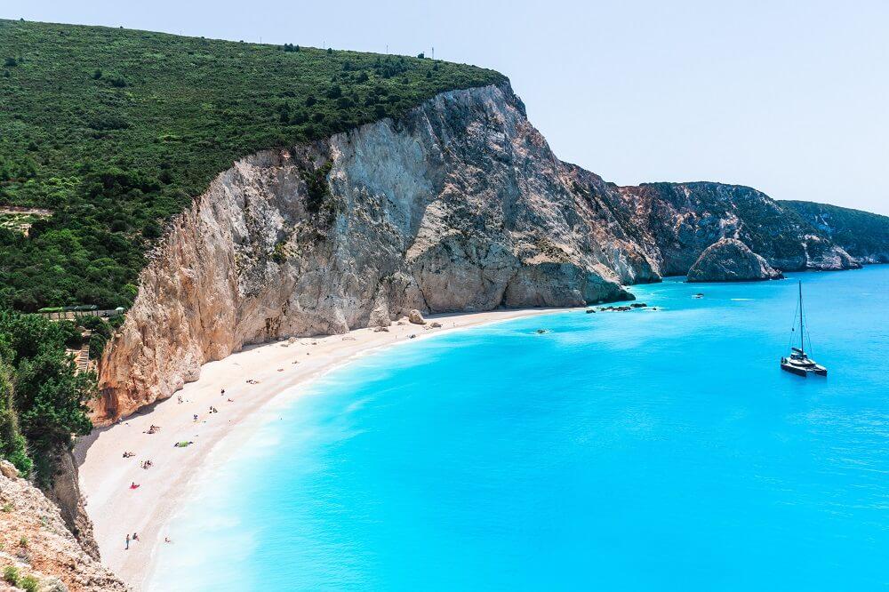 Katsiki Beach auf Lefkada